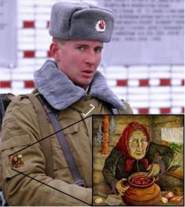 Soldier Baba Yaga