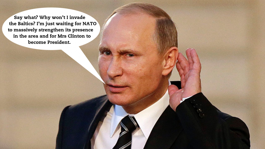 Putin and the Baltics