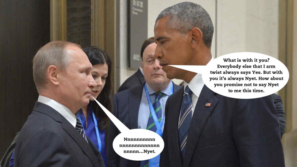 Putin Obama Nyet